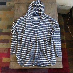 NWT Banana Republic Luxespun Hoodie Sweatshirt XL